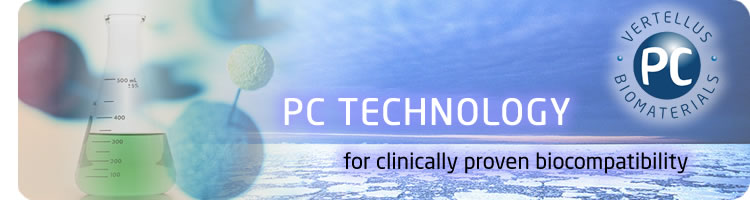 Vertellus PC Biomaterials - PC Technology for clinically proven biocompatibility